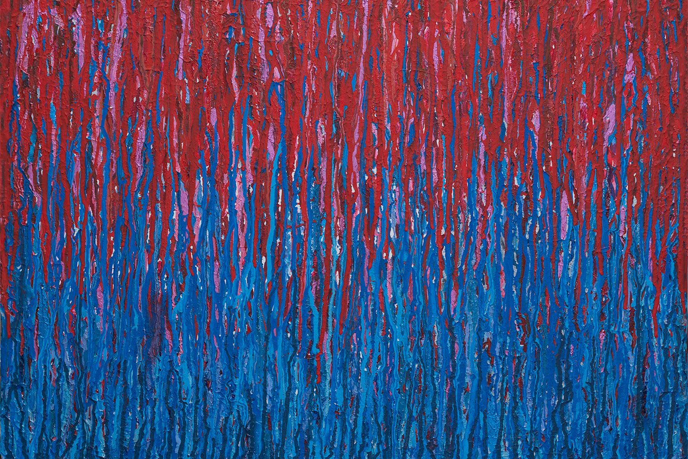 Paint + Ink on textured canvas Painting © Roger Smith 2015