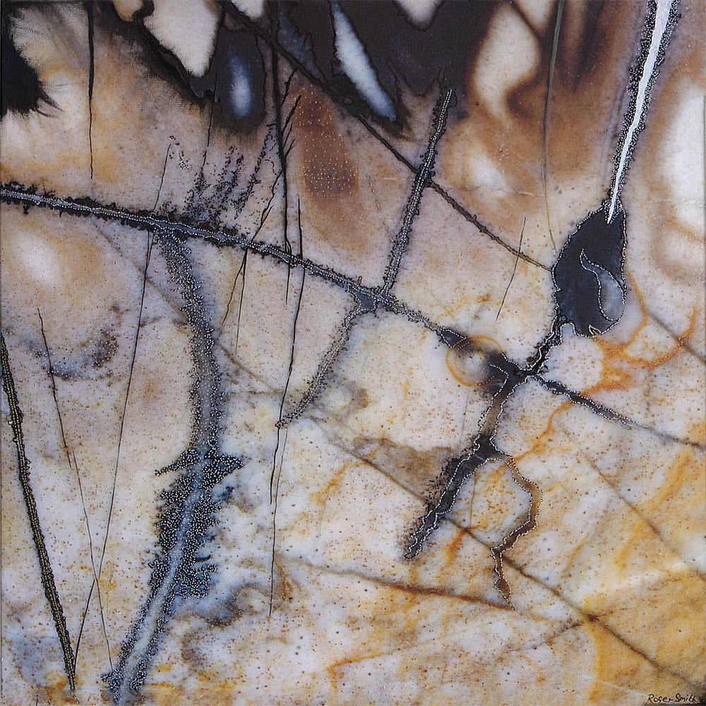 Hybrid Painting on Photograph © Roger Smith 2016