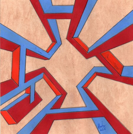 Alan King Digital Art Massurrealism Painting