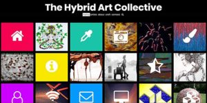 hybrid-arts-site-screenshot roger smith web design